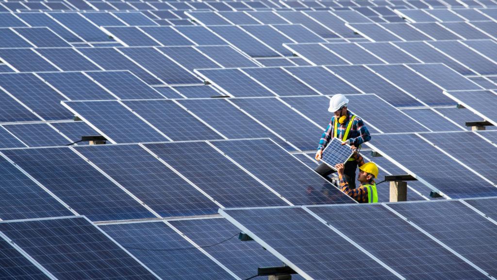 Instalação do sistema fotovoltaico