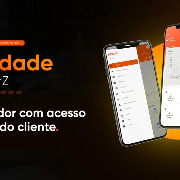 SolarZ disponibiliza três novas funcionalidades