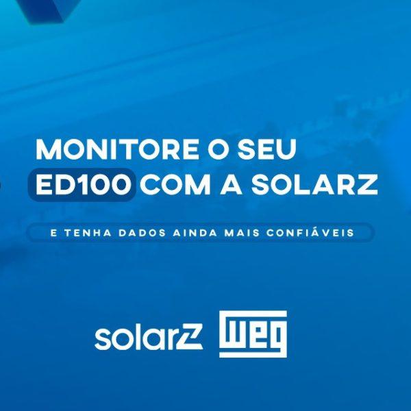 WEG lança integração do Datalogger ED100 ao sistema SolarZ